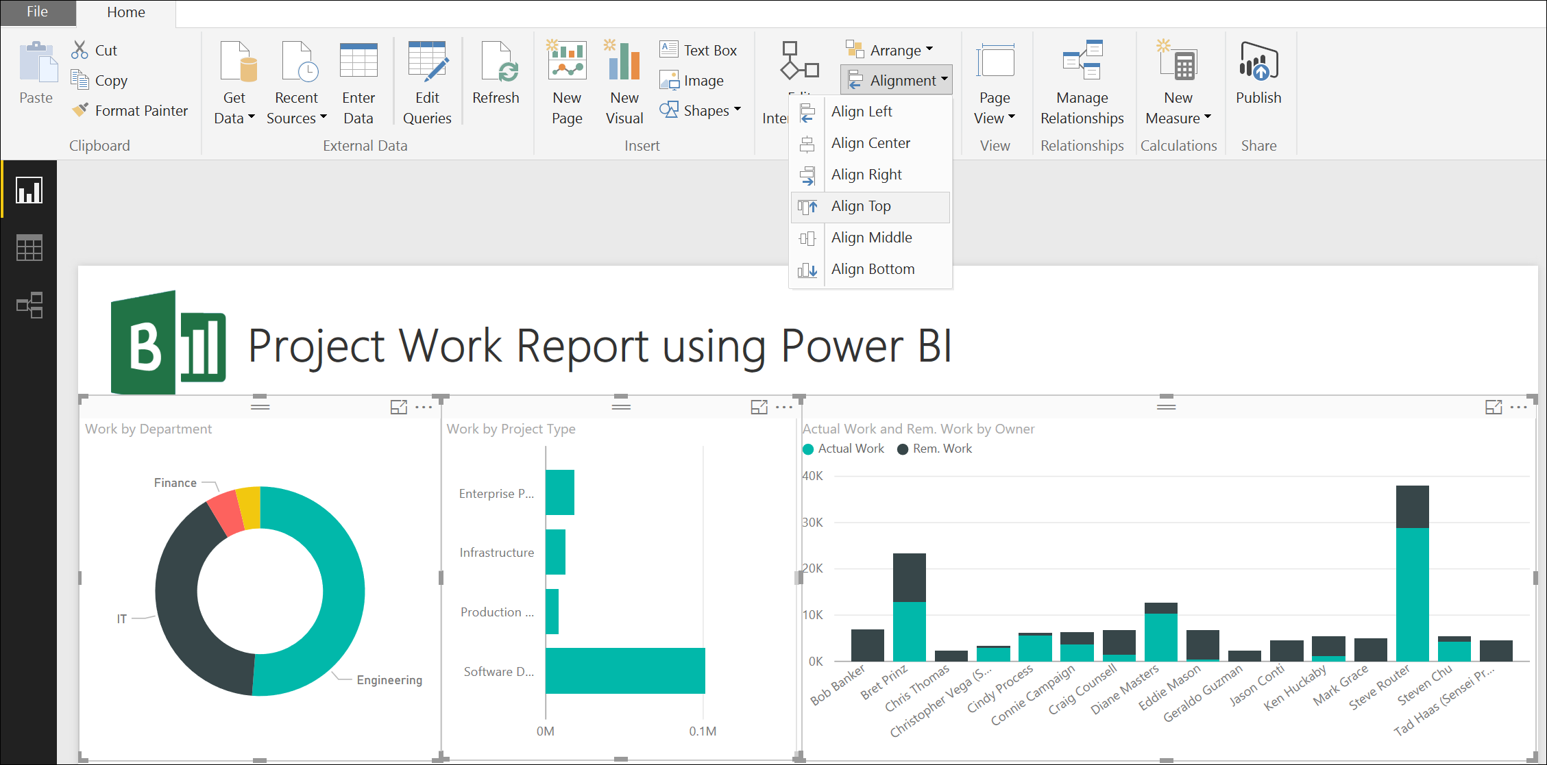 Power BI for Project Online – Get Started Quickly | Sensei Project