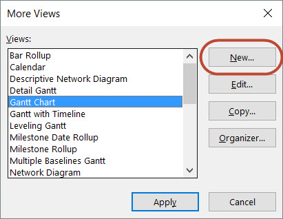 Creating Multiple Timeline Views in Microsoft Project 2010