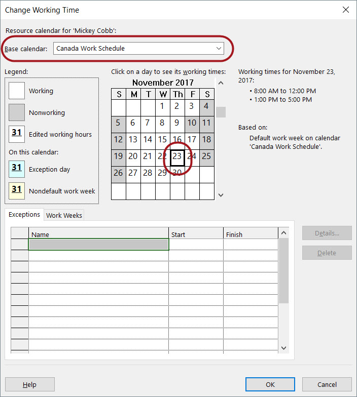 understanding the power of calendars in microsoft project sensei